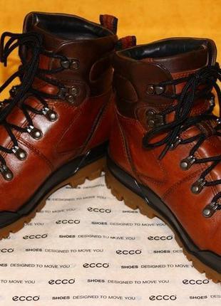 Ботинки ecco track 6. gore-tex. оригинал. размер 40-41