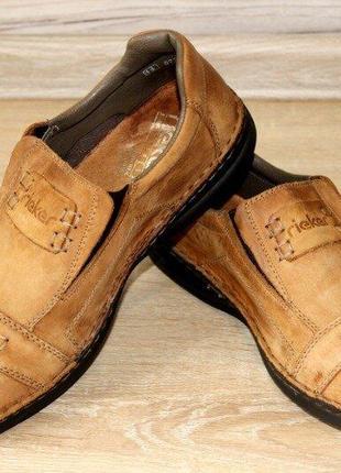 Туфли, полуботинки rieker. германия. размер 43-44. оригинал.