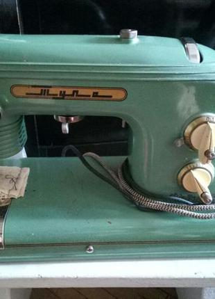 Швейная машинка с электроприводом Тула. Модель 1, 1958 года.