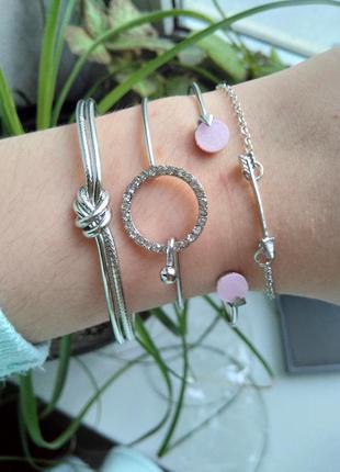 Стильные браслеты под часы модные металлические