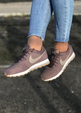 Весенние повседневные кроссовки nike md runner 2