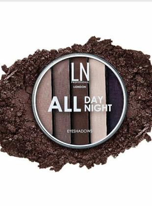 Тени для век LN Professional All Day All Night Eyeshadows смоки