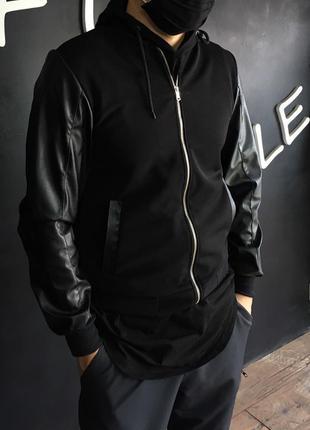 Весенний мужской бомбер, куртка в стиле zara