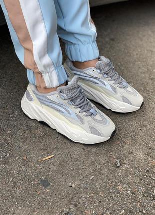 Adidas yeezy boost 700 static 🔺женские кроссовки адидас изи 700