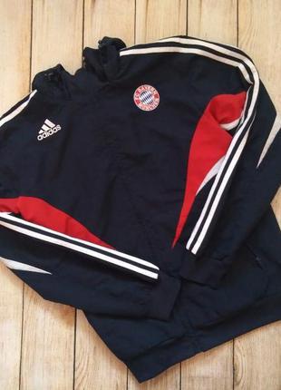 Кофта bayern munchen adidas ветровка олимпийка мастерка футбол...