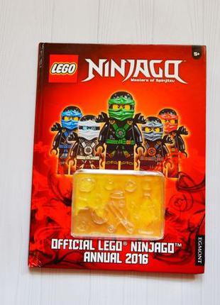 Детская книга на английском Лего Lego ninjago