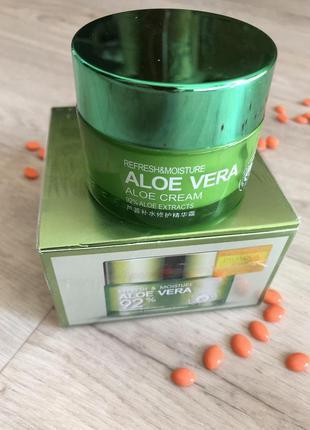 Крем-гель для лица и шеи bioaqua refresh & moisture aloe vera ...