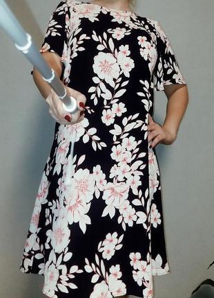 Платье в цветочный принт debenhams 14-16