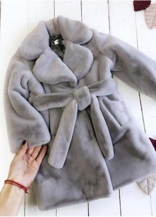 Эко шуба детская tissavel