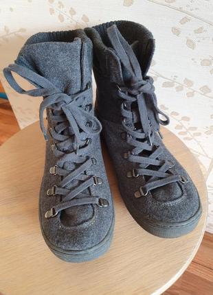 Ботинки на шнурках хайтопы