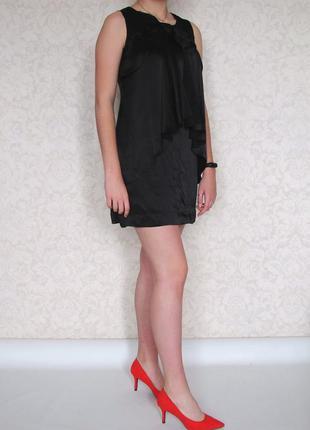 #розвантажуюсь. маленькое черное платье warehouse, 100% шелк