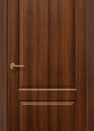 Дверь Омис Классика ПГ ПВХ (ольха, орех)