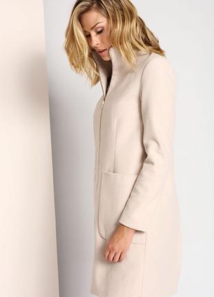 Оригинальное брендовое пальто шерсть 36 р.