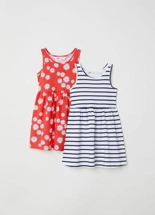 Последний набор! набор платьев h&m для девочки. новый. размер ...