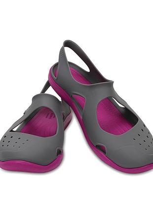 Последняя пара!  crocs swiftwater wave sandal. w6