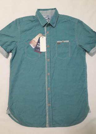 Мужская стильная рубашка от tom tailor оригинал