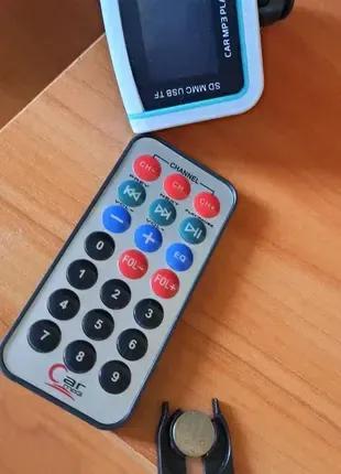 FM передатчик MP3 плеер USB с пультом