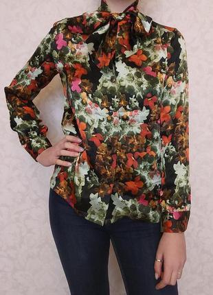 Блуза, рубашка, jessica m. nutzel, 100% шелк