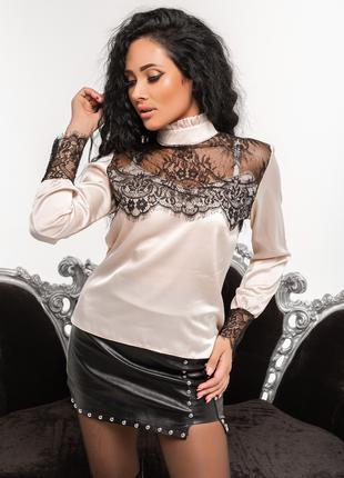 Женская блузка. Размеры:42.