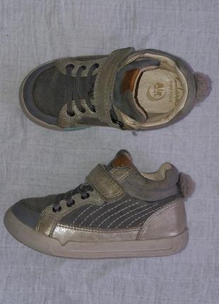 Clarks кроссовки 24 размер хайтопы ботиночки