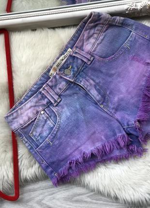 Короткие джинсовые шорты zara xs