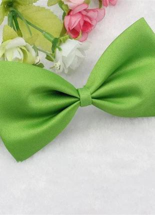 Бабочка бантик для собак или кошек зеленый 3196-8