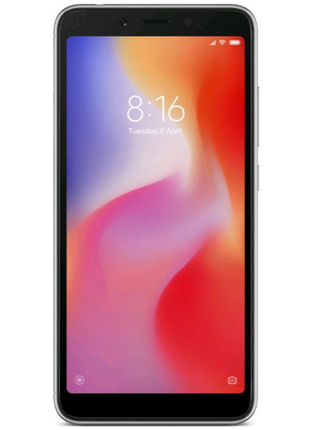 "Xiaomi Redmi 6A Black 2/16 Gb, 5.45"", Helio A22, 3G, 4G (Global)"