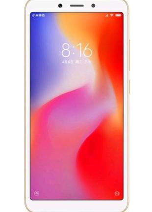 "Xiaomi Redmi 6A Gold 2/16 Gb, 5.45"", Helio A22, 3G, 4G (Global)"
