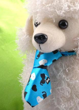 Галстук для собаки голубой 3152-15