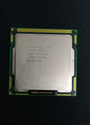 Intel I3 540 1156 socket