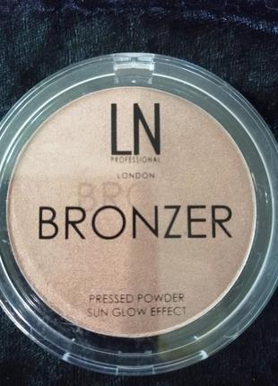 Ln professional bronze sun glow effect  бронзер для лица и тела