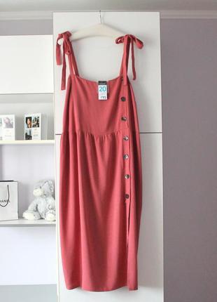 Новое очень красивое миди платье сарафан от primark