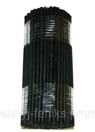 Свечи черные воско-парафиновые 1 кг (140 шт) Свеча черная