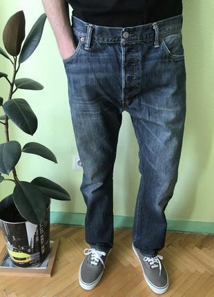 Мужские джинсы levis 501, размер 36 {xl} левис, ливайс, lee