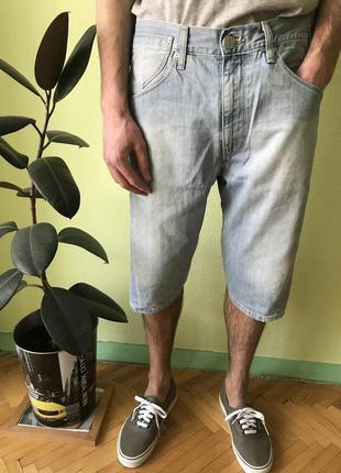 Мужские шорты, бриджи levis engineered размер м (32), левис le...