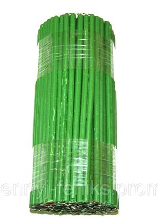 Свечи зеленые воско-парафиновые 1 кг (140 шт) Свеча зеленая