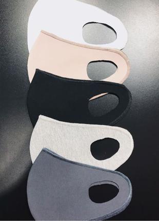 Маска из неопрена, не медицинская, маска на лицо, защитная маска