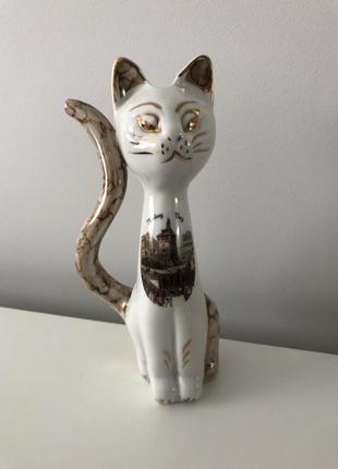 Чашка-поильник для минеральной воды в форме котика