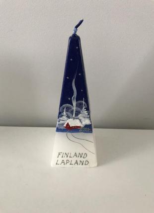 Свеча финляндия ручная работа