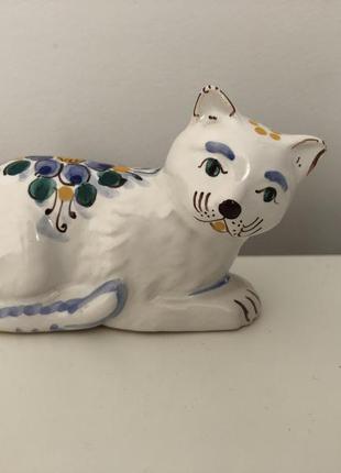Статуэтка кот ручная роспись