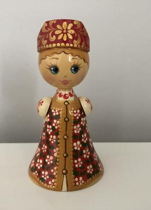 Статуэтка деревянная кукла