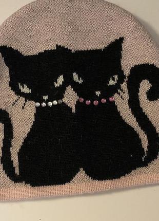 Шапка коты