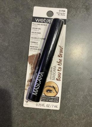 Тушь для бровей ultimate brow mascara, оттенок nothing but bru...