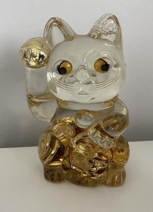 Статуэтка японский кот манэки-нэко