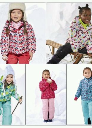 РАСПРОДАЖА зимняя лыжная мембранная термо куртка лупилу Lupilu