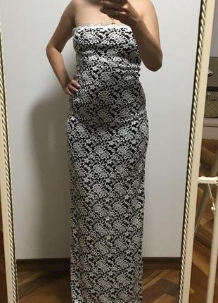 Шикарное платье-резинка