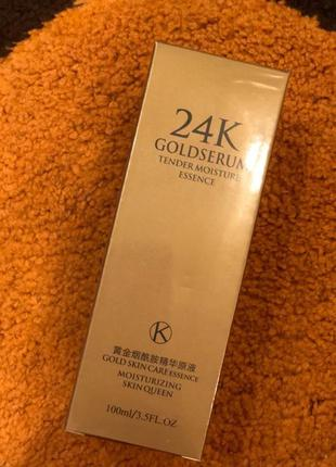 Сыворотка для лица гиалуроновая one spring 24k gold serum (100...