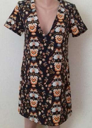 Новое платье прямого кроя с принтом missguided