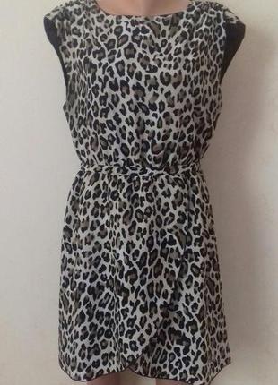 Интересное платье с принтом h&m