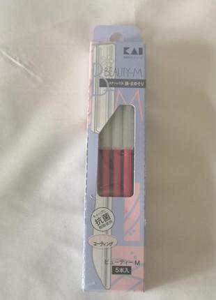 Бритва для бровей женская 5 шт. cosmos kai , япония